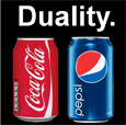 The law of duality is creating havoc with many marketing programs.