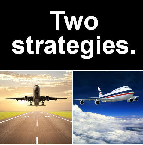 To launch a new company, you need two strategies.